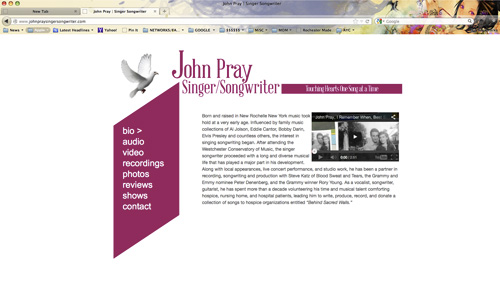 John Pray Singer Songwriter